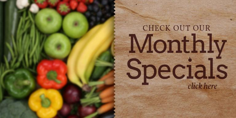 Natural Foods General Store Monthly Specials
